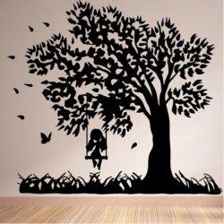 El Árbol del Columpio y la Niña