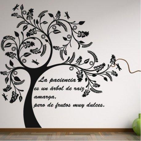 Vinilo decorativo el rbol de la sabidur a - Vinilos de arboles ...