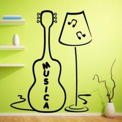 Lámpara con Guitarra Musical