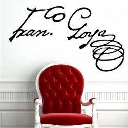 Firma de Goya