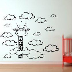 Jirafa entre Nubes