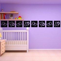 Chupetes de Bebé y Mariposas
