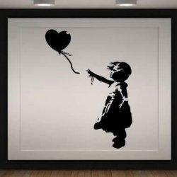 Banksy la Niña del Globo