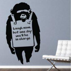 Banksy y el Chimpancé