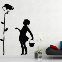 Banksy y la Chica del Foco