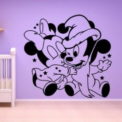 Mickey y Minnie Mouse Bebes Amorosos