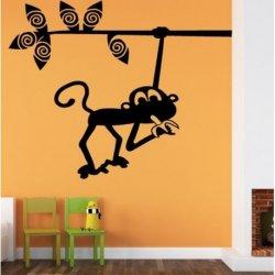 Pequeño Mono con Banana