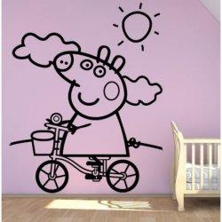 Peppa Pig en Bici
