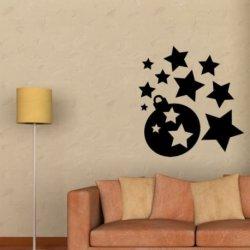 Bolas y Estrellas Navideñas