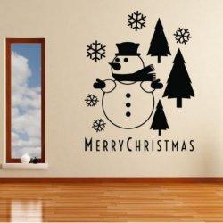 Muñeco de Nieve Merry Christmas