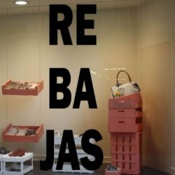 Rebajas en Escaparates