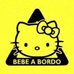 Triángulo Hello Kitty