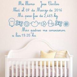Mi Carta de Bienvenida Bebé