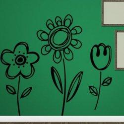 Flores de Lienzo