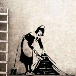 Doncella Banksy