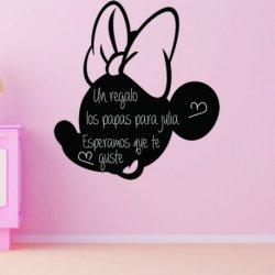 La Pequeña Minnie Mouse Silueta