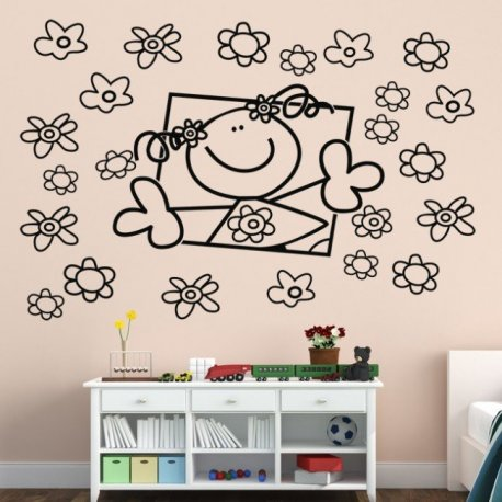 Vinilo decorativo puzzle ladies and gents - Puzzles decorativos ...
