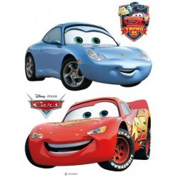 Cars Rayo McQueen y Sally