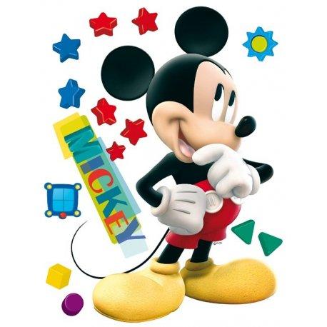 Mickey Mouse con estrellas