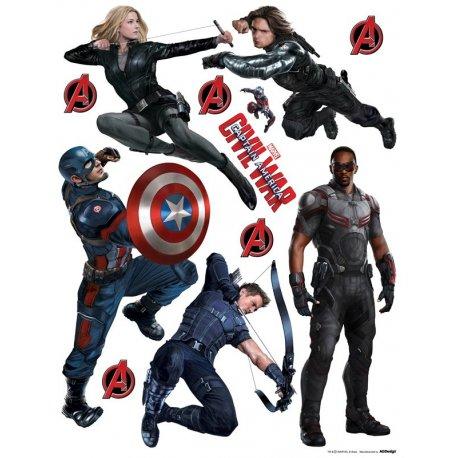 Capitan America Civil War personajes