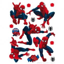 Diferentes posturas de Spiderman