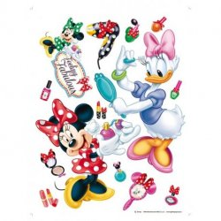 Minnie y Daisy acicalándose