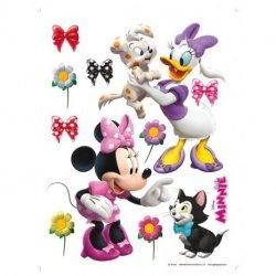 Minnie y Daisy con mascotas