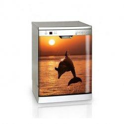 Delfín al atardecer