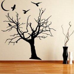 Árbol Desnudo en la Noche