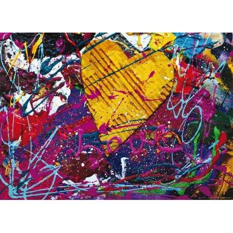Cuadro Pintura Love Abstracto