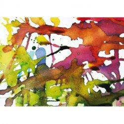 Composición Acuarelas de Colores