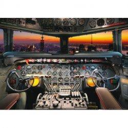 Pilotando desde la Cabina del Avión