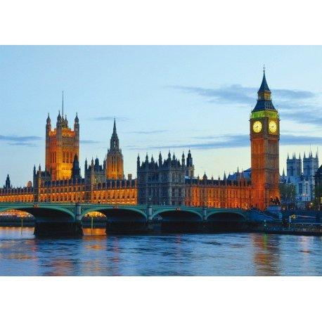 Palacio de Westminster Iluminado
