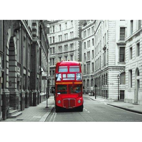 Autobús en las Calles de Londres