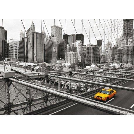 Taxi Amarillo sobre Nueva York