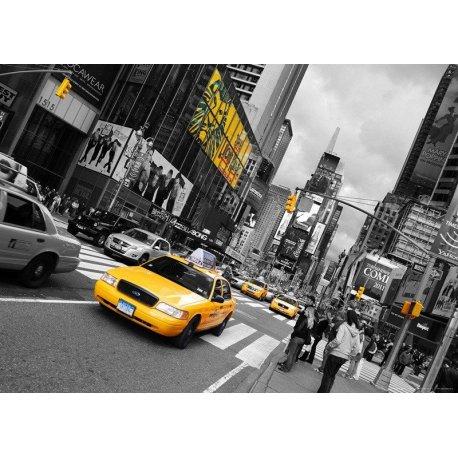Amarillo en la Gran Avenida de NY