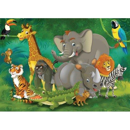 Los Animales de la Selva Reunidos