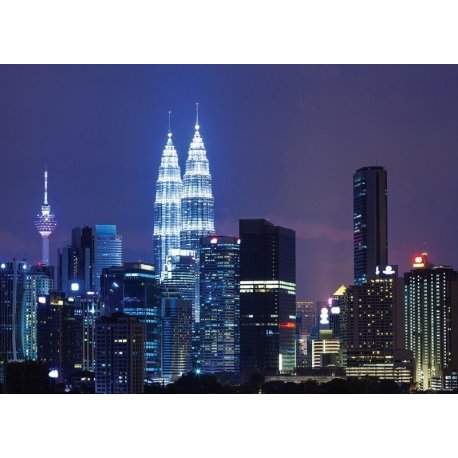 Torres Kuala Lumpur de Noche
