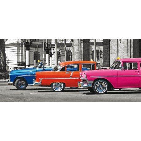 Coches Años 50 Clásicos Coloridos