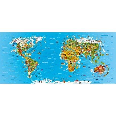 Mapamundi Infantil de las Culturas