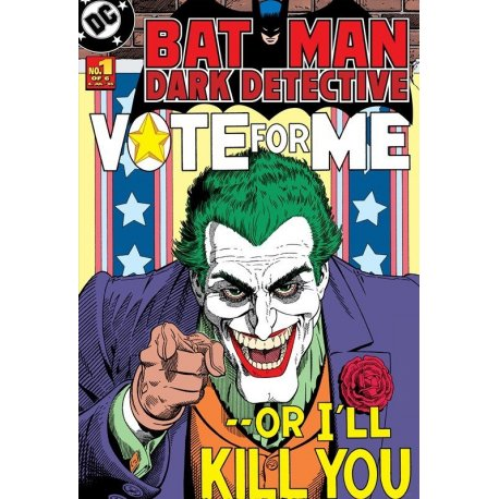 Portada Comic Batman vs el Joker