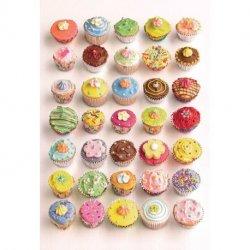 Mosaico de CupCakes de todos los Colores