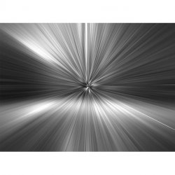 Rayos de Luz al Infinito en Blanco y Negro