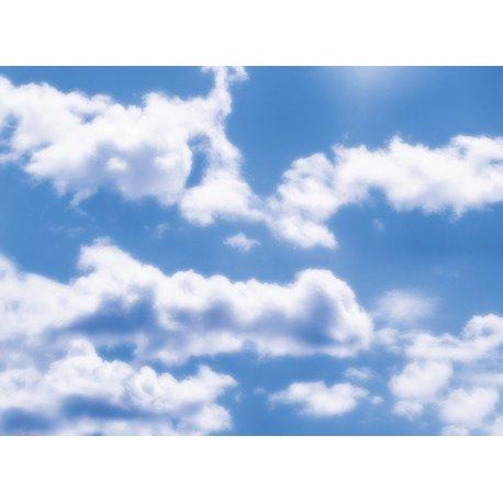 La Calma de las Nubes sobre Azul