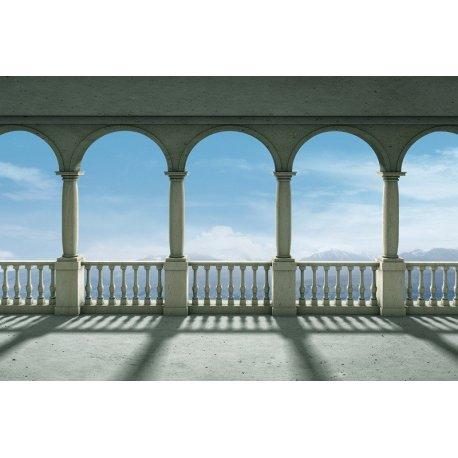 Vistas a las Montañas desde Balcón de Arcos