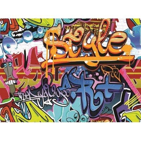 Mosaico Arte Urbano Graffiti Style