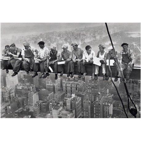 Almuerzo sobre un rascacielos