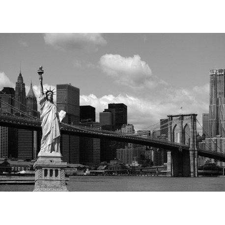Composición Nueva York en Blanco y Negro