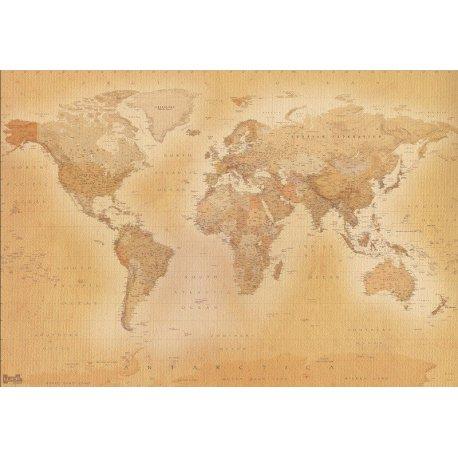 Viejo Mapa del Mundo