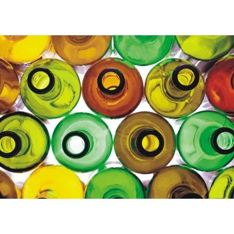 Mosaico Botellas Colores